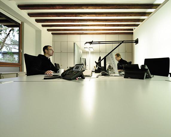 magenta – die Werbeagentur in Mannheim, Inneneindrücke: digitale Medien