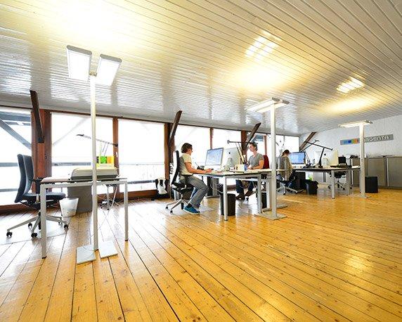 magenta – die Werbeagentur in Mannheim, Inneneindrücke: Print Design
