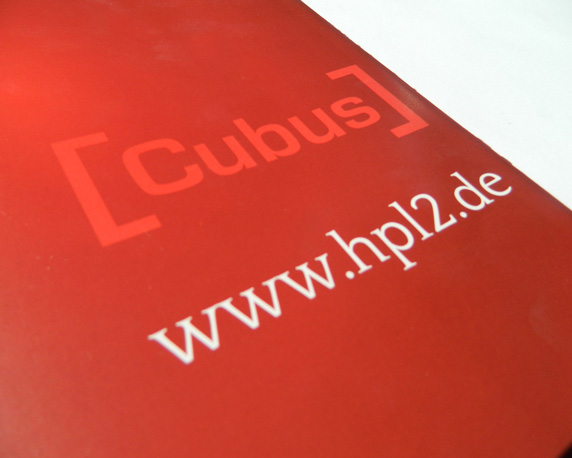 ABB Grundbesitz, Broschüre, Cubus, Heiligenhaus