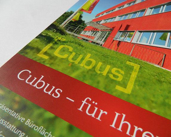ABB Grundbesitz, Broschüre, Cubus, Heiligenhaus, Werbeagentur Mannheim, magenta