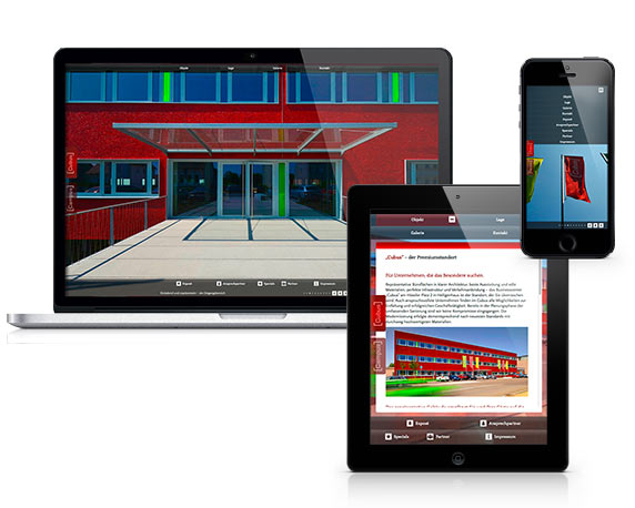 ABB Grundbesitz, HPL2 Webdesign