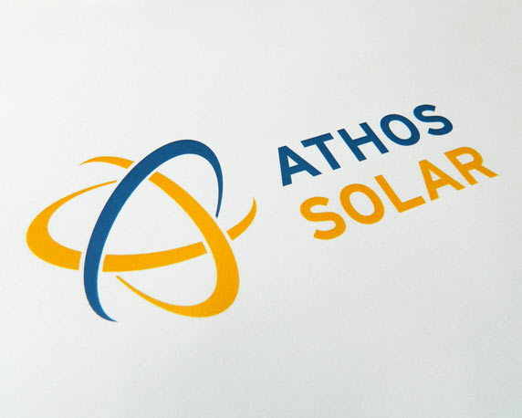 Athos Solar, Logo
