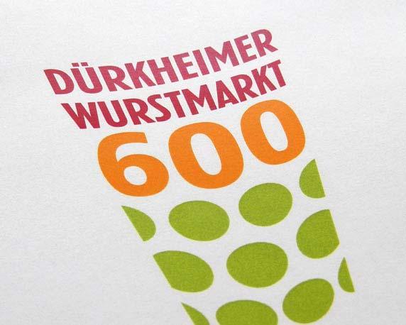 Stadt Bad Dürkheim, Jubiläum, Logo, Wurstmarkt, Werbeagentur magenta, Mannheim