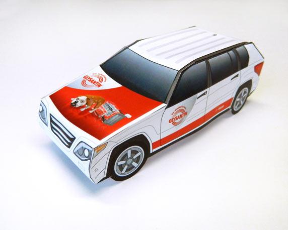BASF SE Glysantin, Website, Weihnachtsspecial, Glys-Mobil zum Basteln