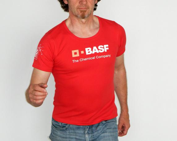 BASF, Firmencup T-Shirt