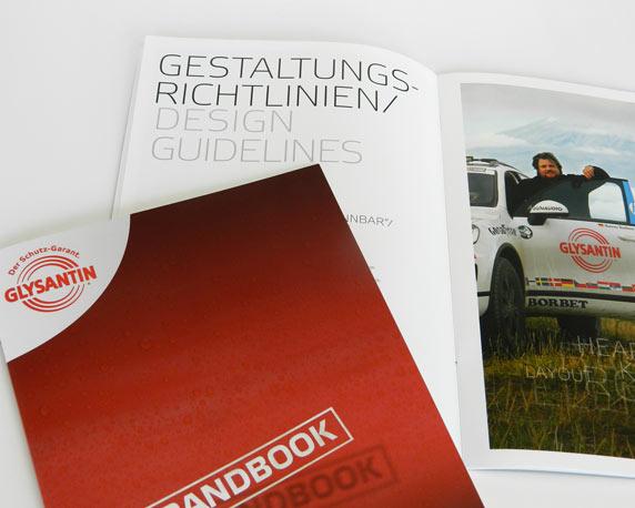 BASF SE Glysantin, Brandbook, Werbeagentur magenta, Mannheim