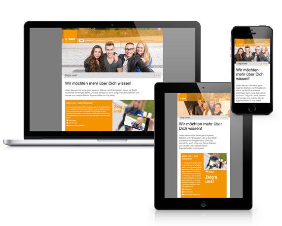 BASF SE, Azubitoolkit, Kampagne, Website