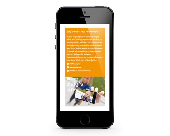 BASF SE, Azubitoolkit, Kampagne, Website, Smartphone, mobil