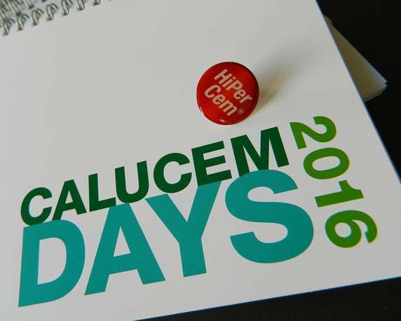 Calucem, Calucem Days 2016, Veranstaltung, Event, Rosengarten Mannheim, Branding, Give-Aways, Notizbuch, Anstecker