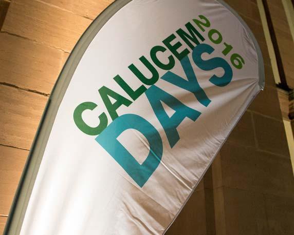 Calucem, Calucem Days 2016, Veranstaltung, Event, Rosengarten Mannheim, Branding, Beachflag