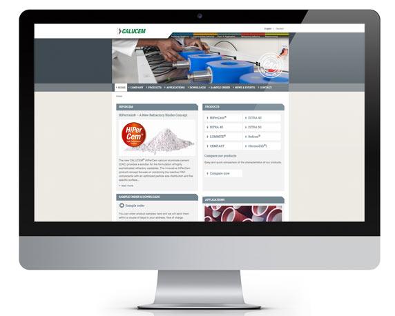 Calucem, Website, Werbeagentur magenta, Mannheim