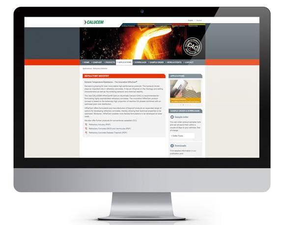 Calucem, Website