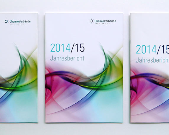 Chemieverbände Rheinland-Pfalz, Jahresbericht 2014/15, Werbeagentur magenta, Mannheim