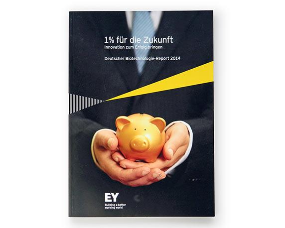 Ernst & Young, Geschaeftsbericht, Werbeagentur magenta, Mannheim