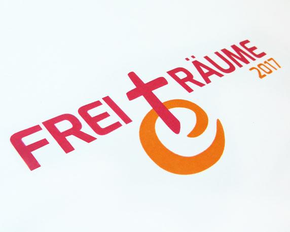 Evangelische Jugend Pfalz, Logo, FreiTräume, Reformation, Jubiläum, Werbeagentur magenta, Mannheim