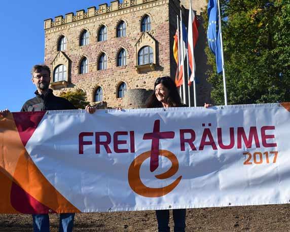 Evangelische Jugend Pfalz, Logo, FreiTräume, Reformation, Jubiläum, Banner