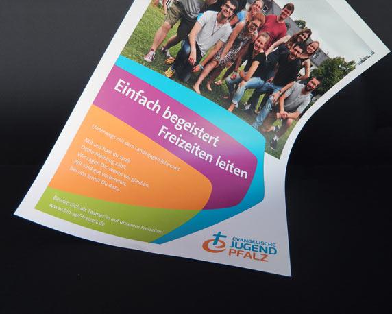 Evangelische Jugend Pfalz, Landesjugendpfarramt, Corporate Design, Logo, Plakat