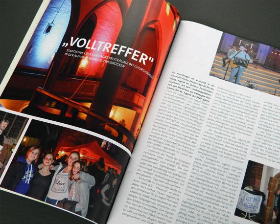 Evangelische Jugend Pfalz, Magazin, EJ aktuell, Churchnight