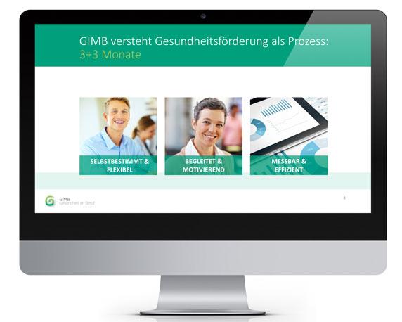 Website, Gesundheit, Beruf, GIMB