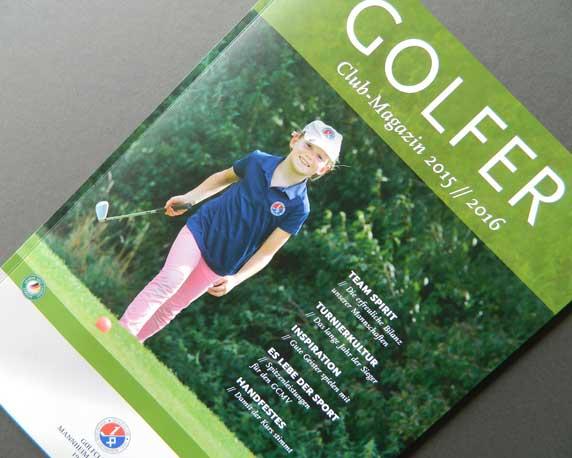 Golfclub Mannheim-Viernheim 1930 e.V., Golfer, Clubmagazin