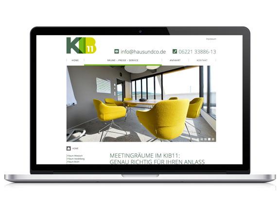 Haus und Co, KIB11, Website, Responsive Design, Werbeagentur magenta, Mannheim