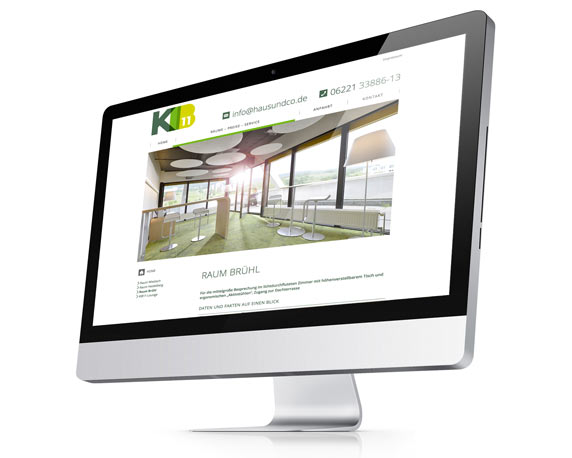 Haus und Co, KIB11, Website, Responsive Design
