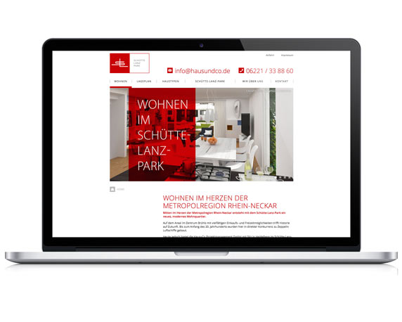 Haus+Co, Schütte-Lanz-Park, Website