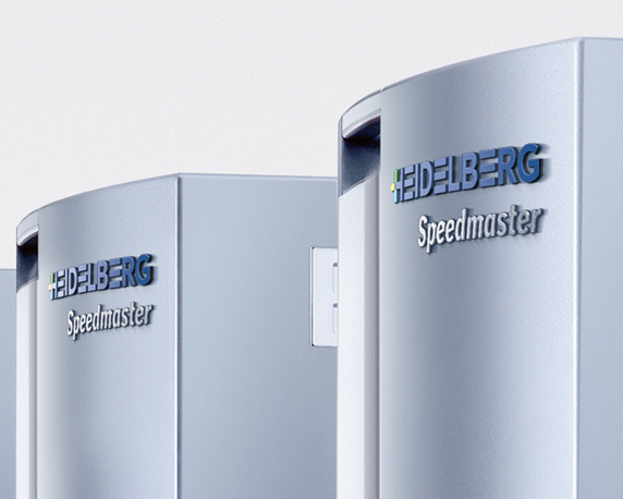 Heidelberger Druckmaschinen AG, Logo, 3D, Rendering