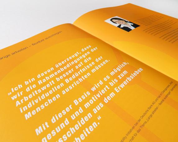 IFOK, Broschüre, Innenseiten, Arbeit der Zukunft gestalten, Initiative für Beschäftigung