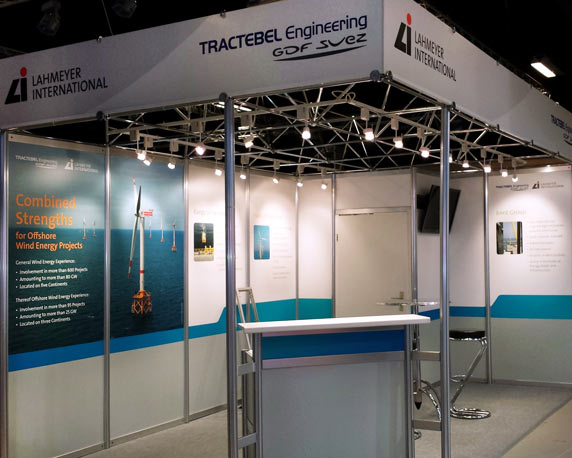 Lahmeyer International, Tractebel Engineering, Messestand, EWEA Offshore, 2015