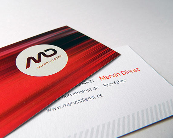 Marvin Dienst, Visitenkarten