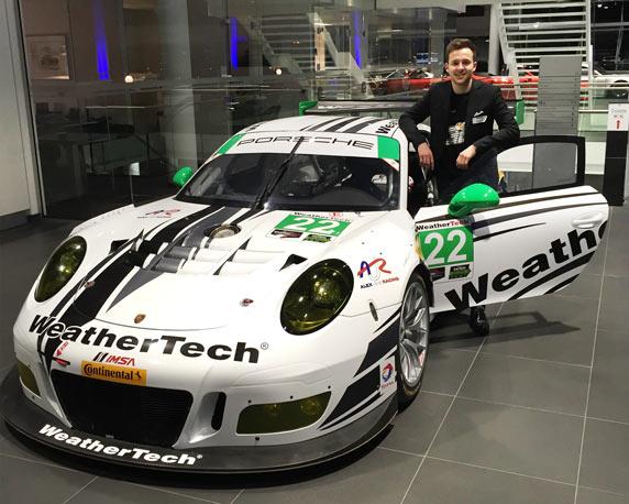 Marvin Dienst, Porsche, Rennfahrer, ADAC, Formel 4, GT Masters, magenta Werbeagentur, Mannheim, Sponsoring