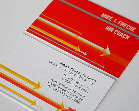 Mike T. Freche, Corporate Design