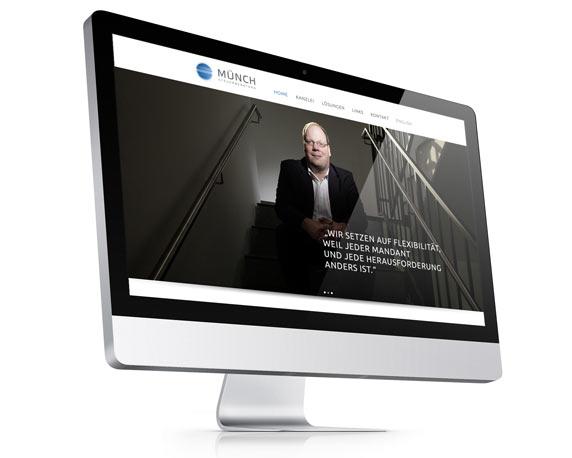 Münch Steuerberatung, Website, Zitat