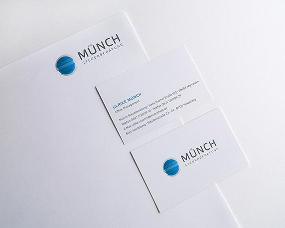 Münch Steuerberatung, Corporate Design