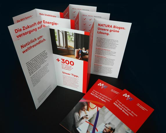 MVV, Energie, neues Design, CD, Folder