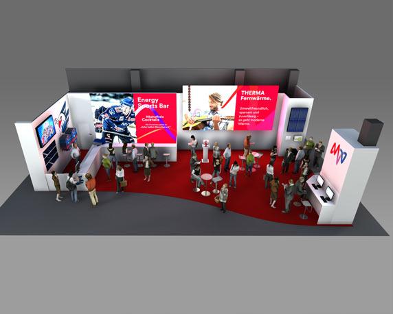 MVV, Messe, Maimarkt, neues Design, 3D, Werbeagentur magenta, Mannheim
