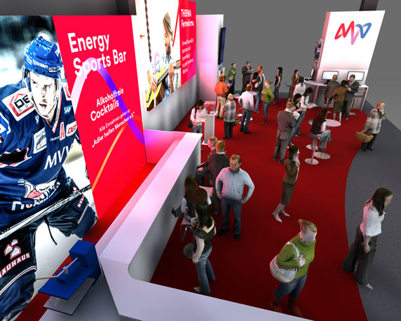 MVV, Messe, Maimarkt, neues Design, 3D