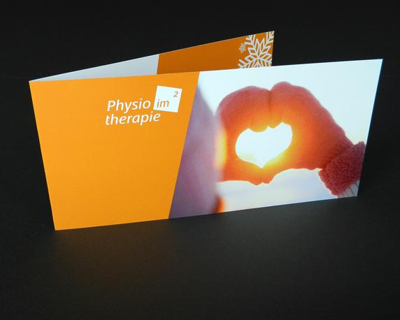 Physiotherapie im Quadrat, Weihnachtskarte