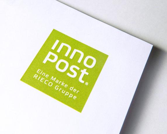 RIECO Gruppe, InnoPost, Logo, Marke, Werbeagentur magenta, Mannheim