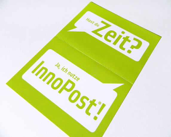 RIECO Gruppe, InnoPost, Postkarte, Mailing