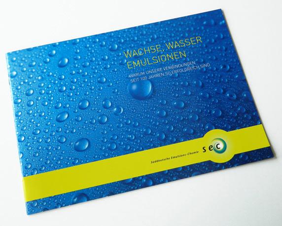 Sueddeutsche Emulsions-Chemie, Broschüre, Werbeagentur magenta, Mannheim