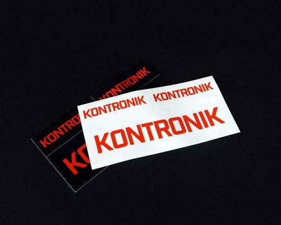 KONTRONIK, SOBEK Drives GmbH, Aufkleber