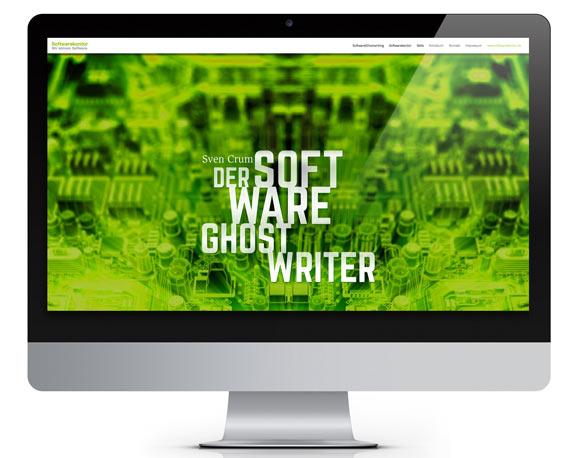 Website Software-Ghostwriter, Mailing, Softwarekontor
