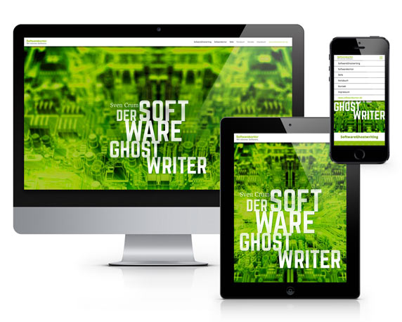 Website Software-Ghostwriter, Mailing, Softwarekontor