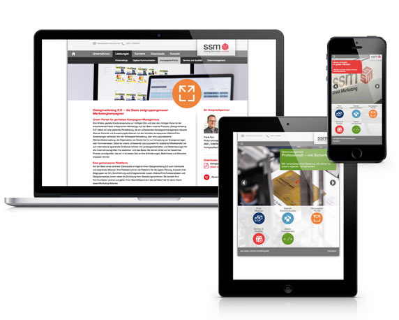 ssm, Website 2014, verschiedene Endgeräte