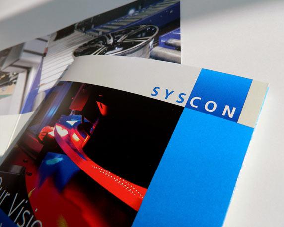 Syscon, Broschuere, Werbeagentur magenta, Mannheim