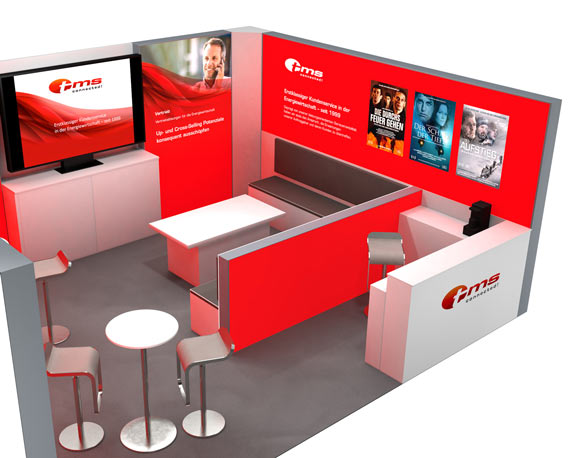 tms connected!, Messestand, E-World 2016