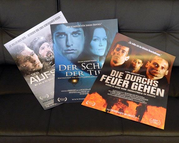 tms connected!, Filmplakate, Mailingaktion, Werbeagentur magenta, Mannheim