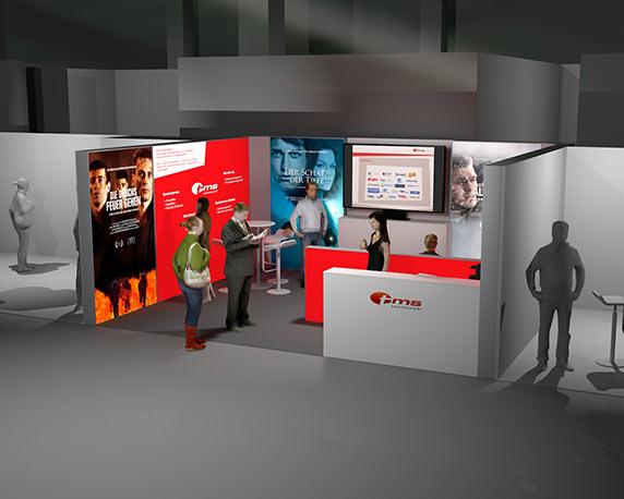 tms connected!, Mesestand, 3D, E-world 2015, Werbeagentur magenta, Mannheim